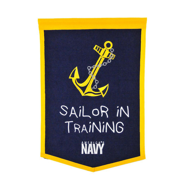 US Navy Lil Fan Traditions Banner