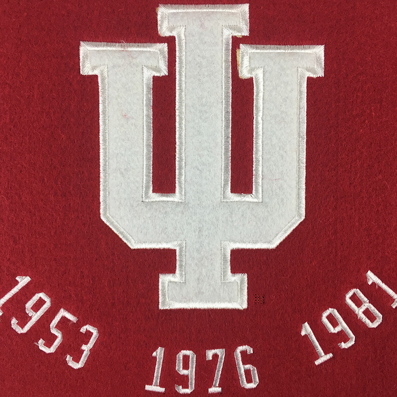 Indiana 5x Champs Banner