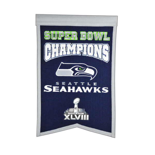 Seattle Seahawks Super Bowl Champs Banner