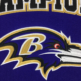 Baltimore Ravens Super Bowl Champs Banner