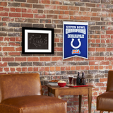 Indianapolis Colts Super Bowl Champs Banner