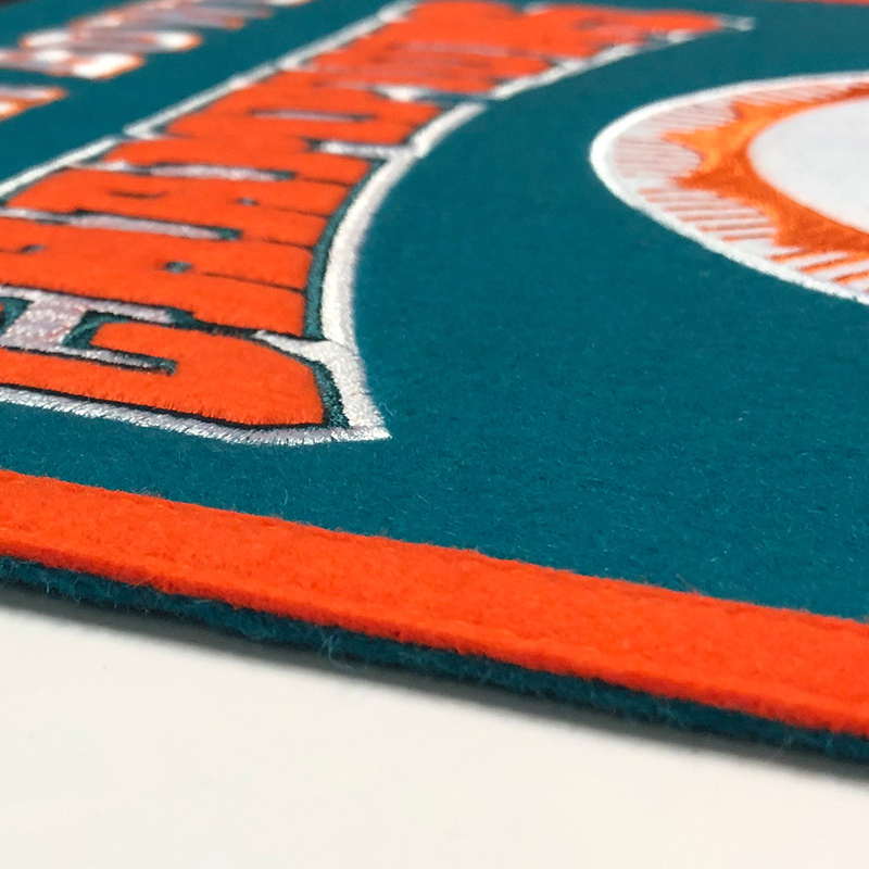 Miami Dolphins Super Bowl Champs Banner