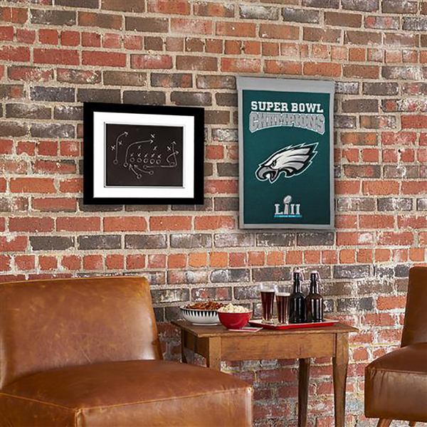 Philadelphia Eagles Super Bowl Champs Banner