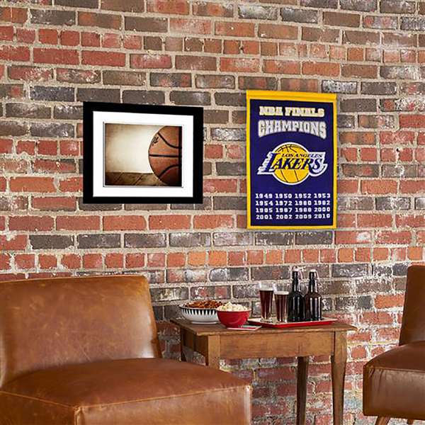 Los Angeles Lakers Champs Banner