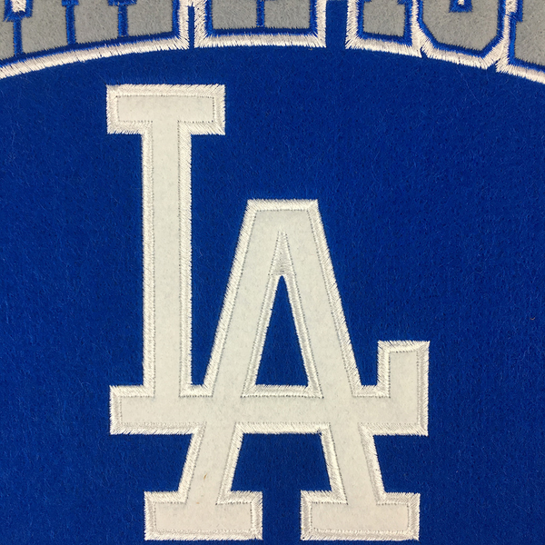 Los Angeles Dodgers 5 Time WS Champions Banner