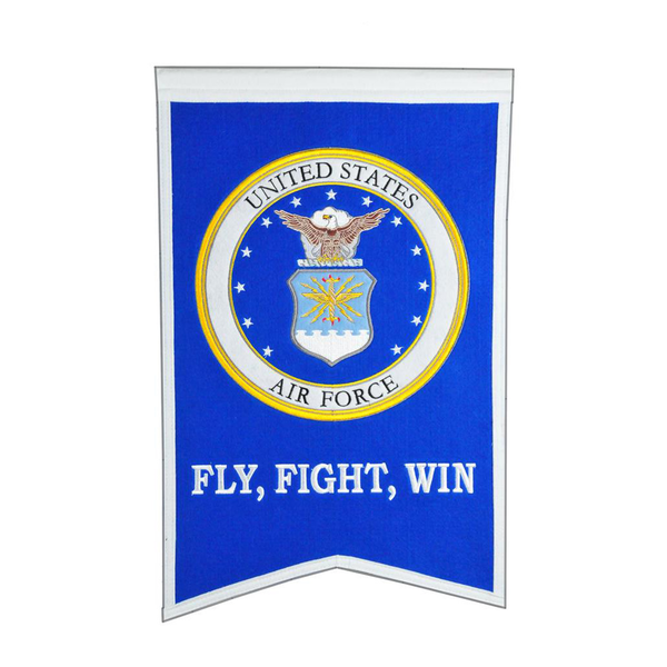 US AIR FORCE Crest Banner