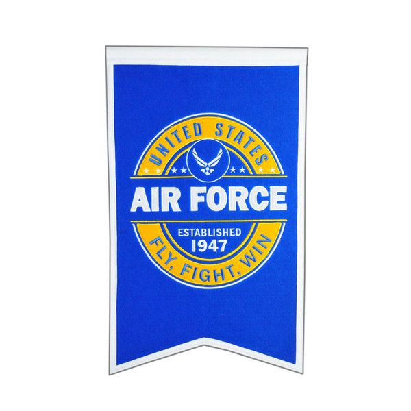 US AIR FORCE Badge Banner