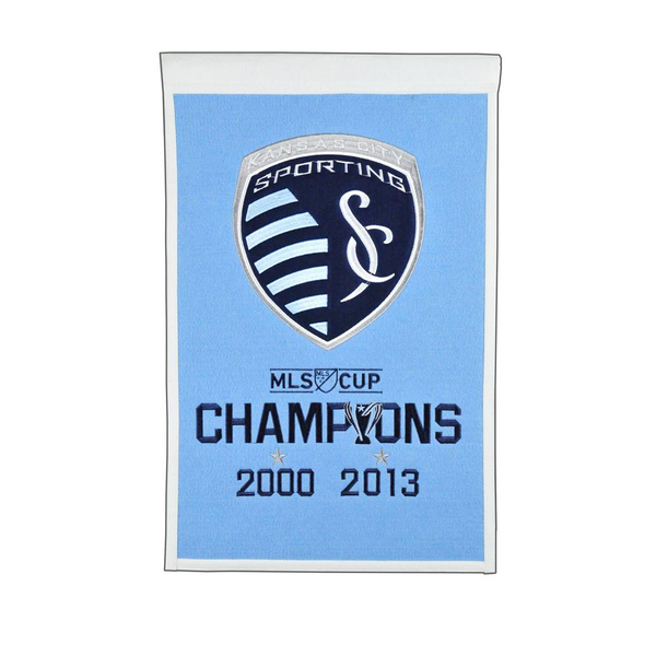 Sporting Kansas City MLS Cup Champs Banner
