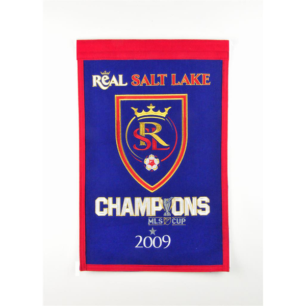 Real Salt Lake MLS Cup Champs Banner