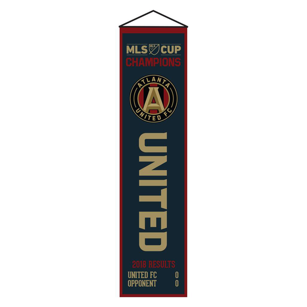 Atlanta United MLS Cup Champs Banner