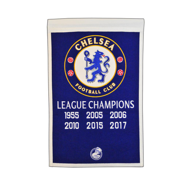 Chelsea FC Champs Banner