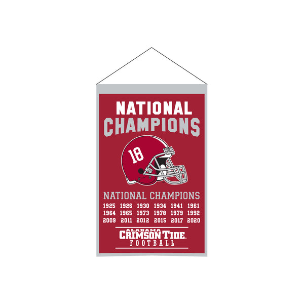 "Alabama 14""x22"" Champs Banner"