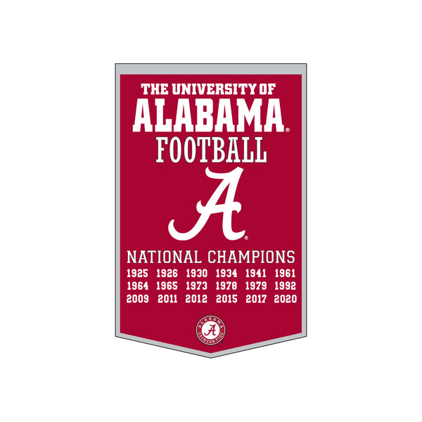 Alabama 24x38 Dynasty Banner