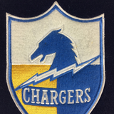 Los Angeles Chargers Heritage Banner
