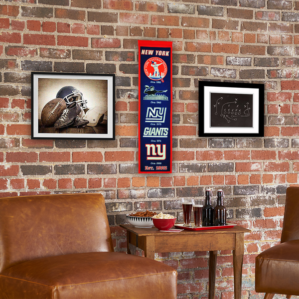 New York Giants Heritage Banner