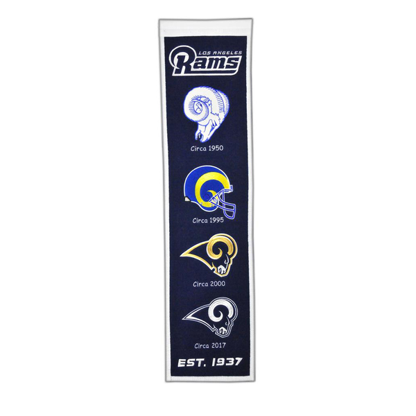 Los Angeles Rams Heritage Banner