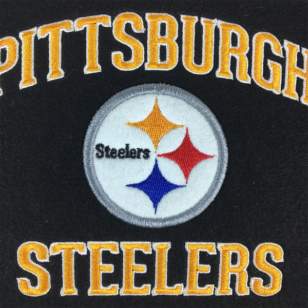 Pittsburgh Steelers Stadium Evolution Banner