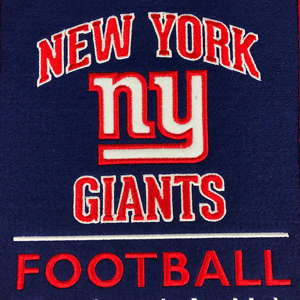 New York Giants Stadium Evolution Banner