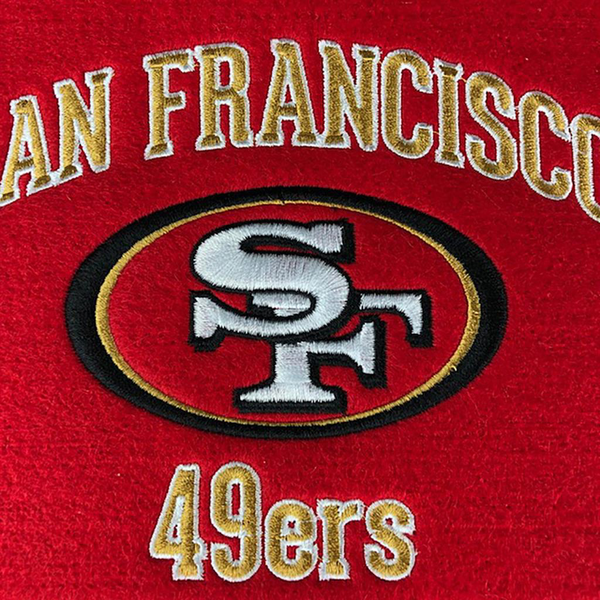 San Francisco 49ers Stadium Evolution Banner