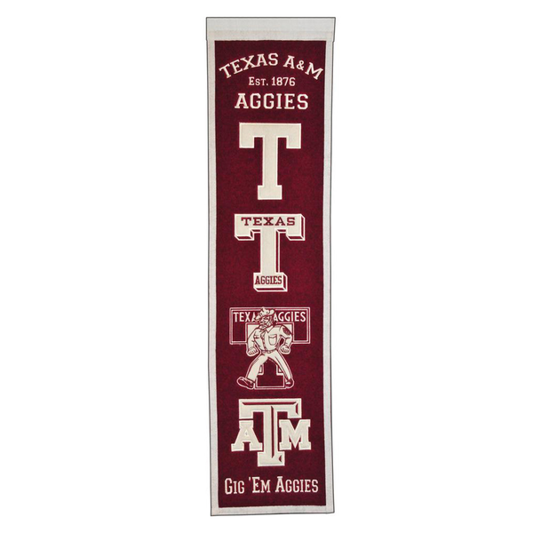 Texas A&M Heritage Banner