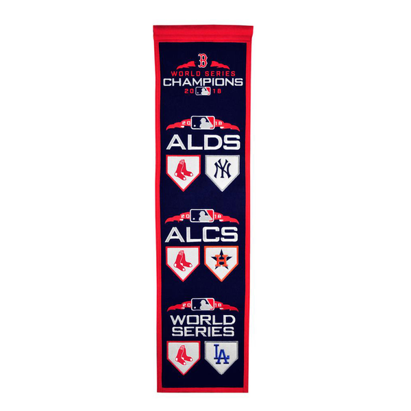 2018 Road to the World Boston Red Sox Series Banner