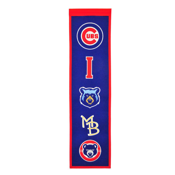 Chicago Cubs Affiliate Heritage Banner