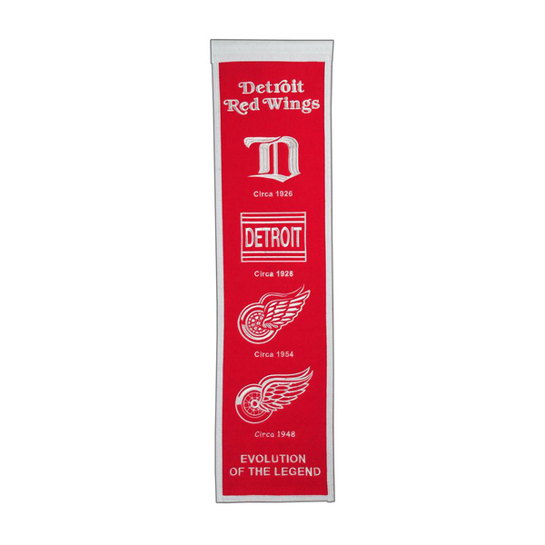 Detroit Red Wings Heritage Banner