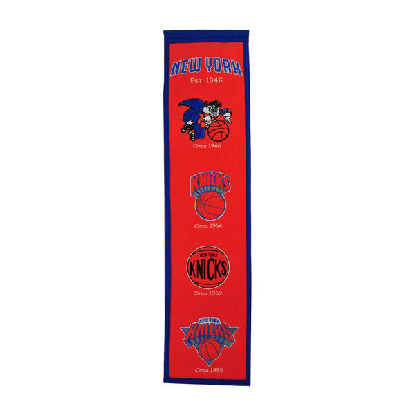 New York Knicks Heritage Banner