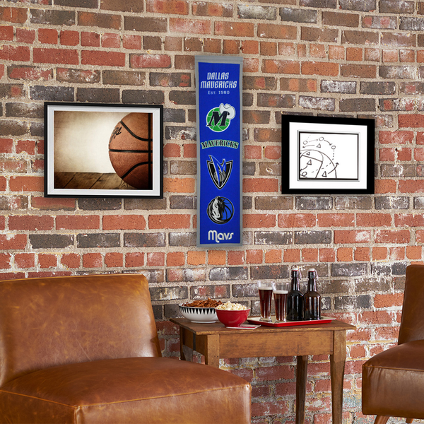 Dallas Mavericks Heritage Banner