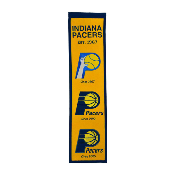 Indiana Pacers Heritage Banner