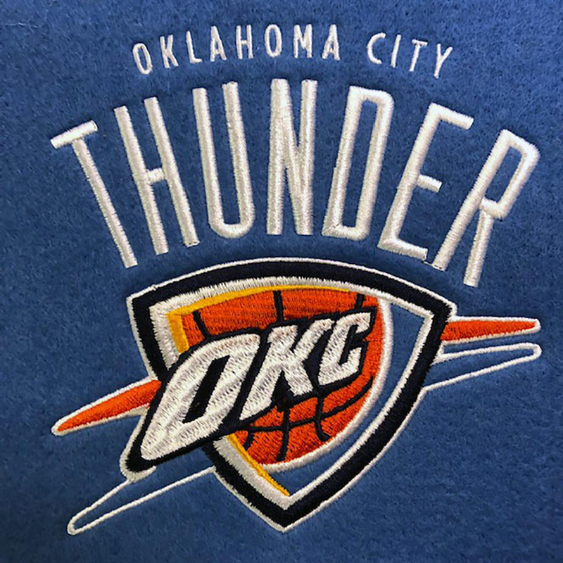 Oklahoma City Thunder Fan Favorite Banner