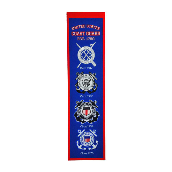 US COAST GUARD Heritage Banner