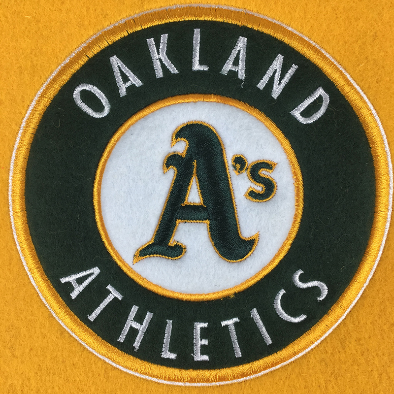 Oakland Athletics Man Cave Banner