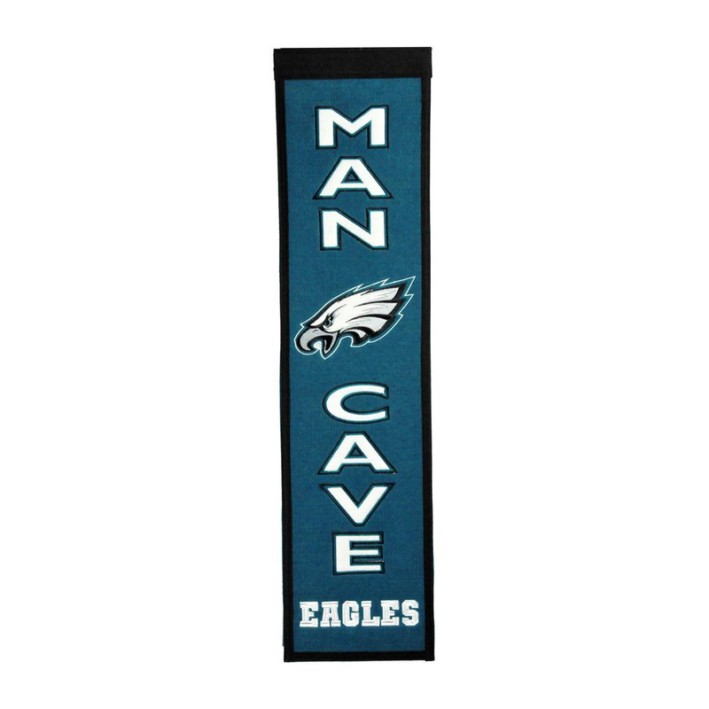 Philadelphia Eagles Man Cave Banner