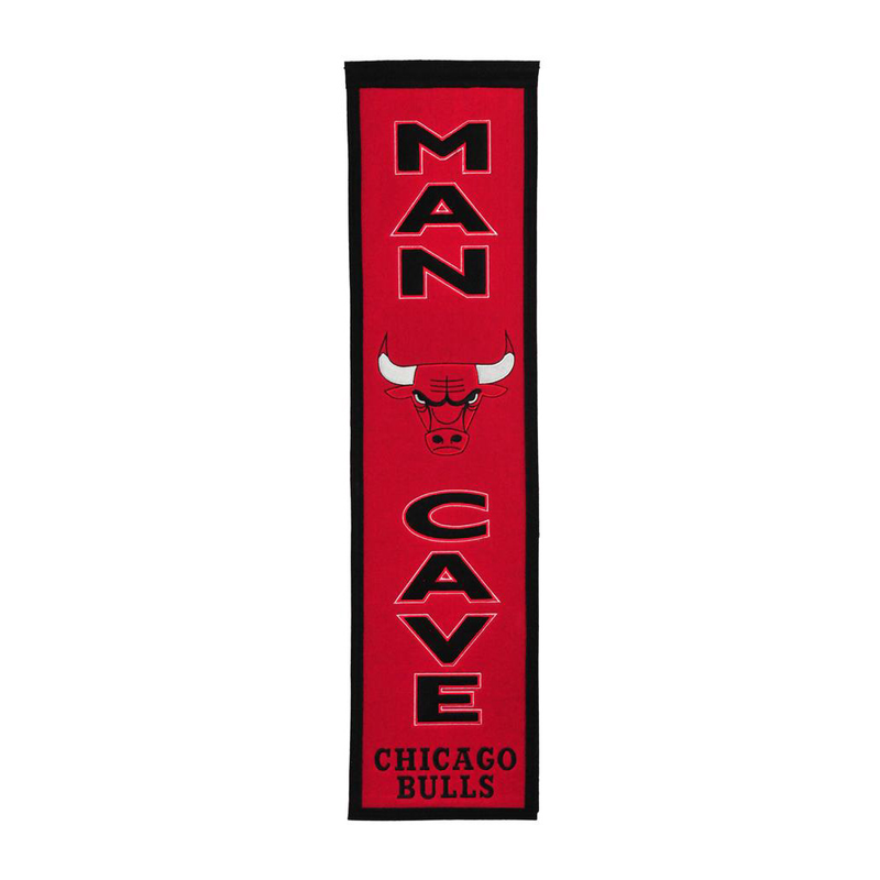 Chicago Bulls Man Cave Banner