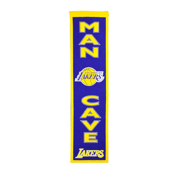 Los Angeles Lakers Man Cave Banner