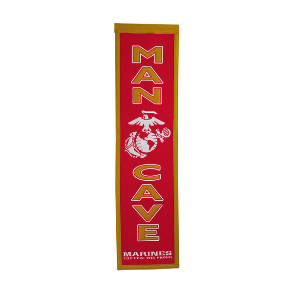 US Marine Corps Man Cave Banner