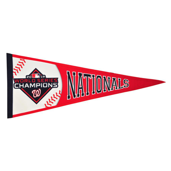 2019 World Series Champs Washington Nationals Traditions Pennant