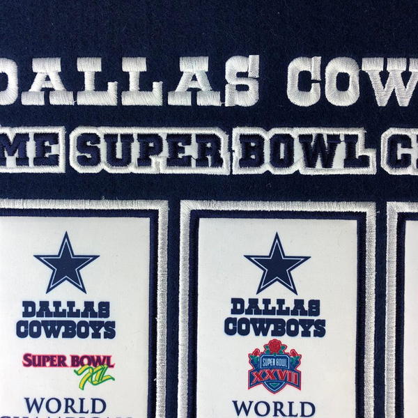 Dallas Cowboys Rafter Raiser Banner