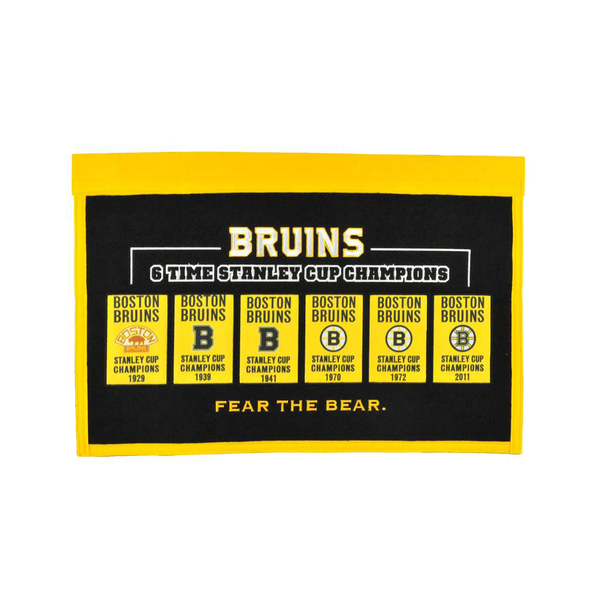Boston Bruins Rafter Raiser Banner