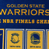 Golden State Warriors Rafter Raiser Banner