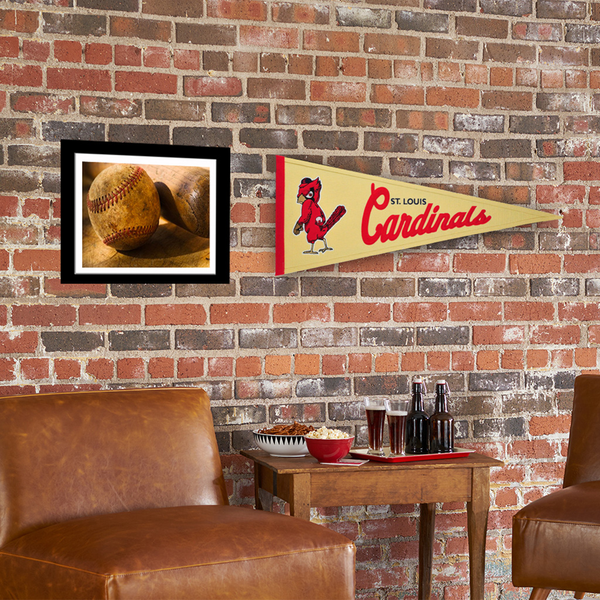 Saint Louis Cardinals Angry Bird Cooperstown Pennant