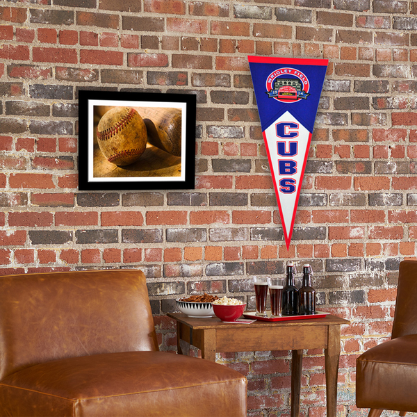 Wrigley Field Traditions Pennant