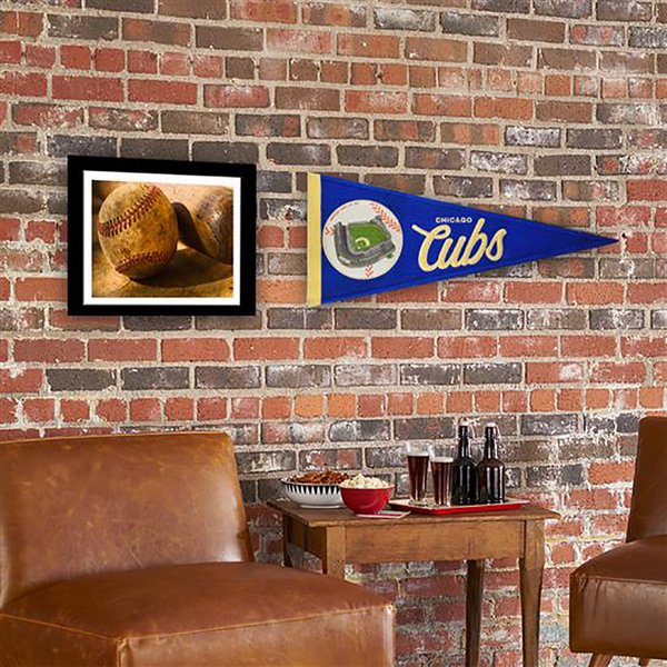 Chicago Cubs Ballpark Traditions Pennant