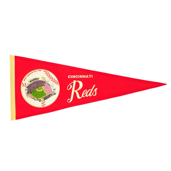 Cincinnati Reds Ballpark Traditions Pennant