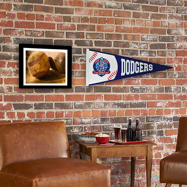Los Angeles Dodgers 60th Ann Traditions Pennant