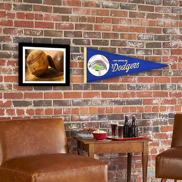 Los Angeles Dodgers Ballpark Traditions Pennant