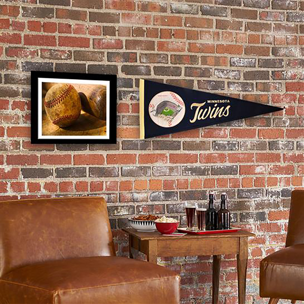 Minnesota Twins Ballpark Traditions Pennant