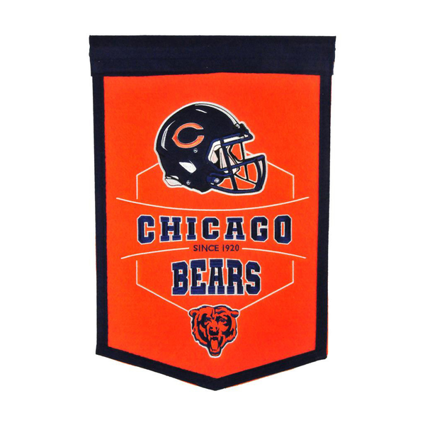 Chicago Bears Revolution Traditions Banner