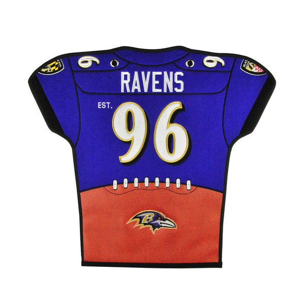 Baltimore Ravens Jersey Traditions Banner
